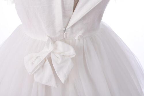 Vestido de fiesta Bautizo Del Bebé Mangas Largas Y Diadema 0 3 6 12 18 24 meses