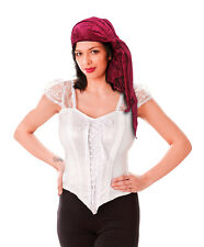 FEMALE #PIRATE BANDANA VELVET FANCY DRESS COSTUME ACCESSORY