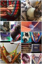 2in1 cosy large hammock/corner hammock : ferret,rat,chinchilla,degu.mixed colour