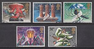 GB-1983-Commemorative-Stamps-Christmas-Very-Fine-Used-Set-ex-fdc-UK-Seller
