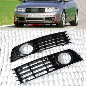 2x-gauche-droit-Grille-feu-Antibrouillard-pare-chocs-pour-Audi-A4-B6-2002-2005