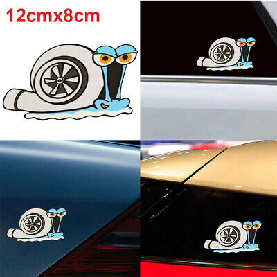 Funny Turbo Snail Car Sticker Styling Bumper Window Decal Car Accessories Lovely