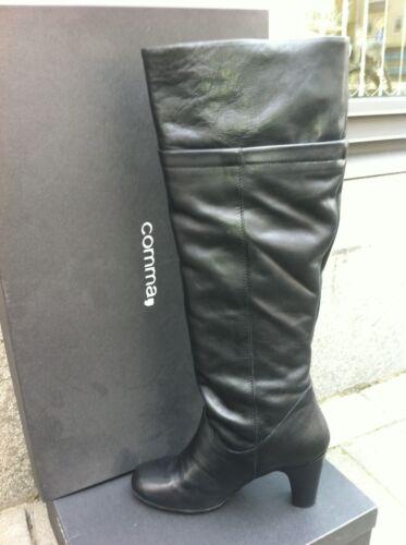 pour v Chaussures High Chaussures Toni Boot Bottes femmes Cuir Bottes Comma Cuir 5Pwqdn5g