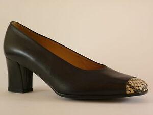 Cuir Pompes Neuf De Noir 36 Sonate Femmes Reptile Chaussures twWqnaS0