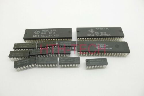TMS9929//TMS9918 w//DRAMs and Sound Chips Homebrew Video IC KIT