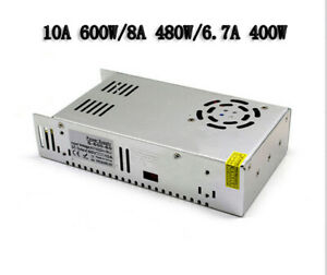 DC60V AC 110V-220V 360W-600W 6A-10A Single Output Switching power supply to SMPS