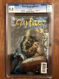 "Batman The Dark Knight #23.3 CGC 9.8 3-D Lenticular Cover ""Clayface #1"" DC Comic"