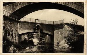 CPA-Savigneux-Le-Vizezy-Le-Canal-du-Forez-Pont-du-Chemin-de-Fer-664014
