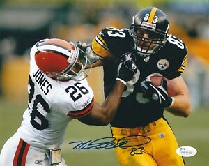 fb4b8a7ed87 Image is loading Signed-8x10-HEATH-MILLER-PITTSBURGH-STEELERS-Autographed -photo-