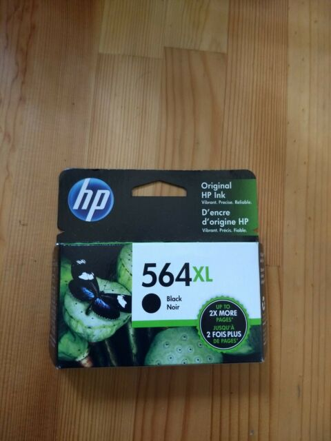 2pack HP 564XL Black CN684WN Ink Cartridges New Generation NEW GENUINE