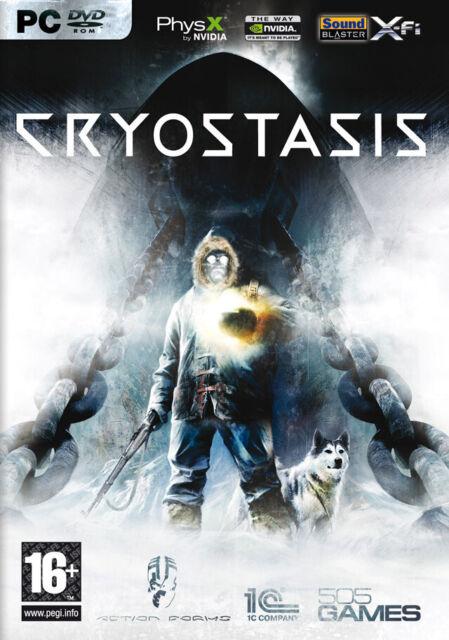 CRYOSTASIS - SLEEP OF REASON / JEU PC / NEUF SOUS BLISTER D'ORIGINE / VF