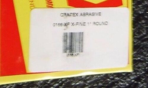"Cratex Round Abrasive Stick 1/"" Diam 5 Pack 6/"" Long 0166XF, MG"