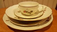 Rosenthal Classic China Rose Pattern 5 Piece Place Setting Germany