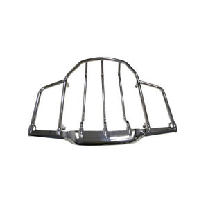 Chrome LED Lighted Airwing & Luggage Rack for Harley Davidson Tour Pack Pak