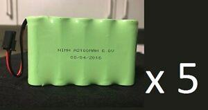 """Brand New """"5"""" GE Interlogix Simon XTi Backup Battery 600-XTI-BAT, 2016"""