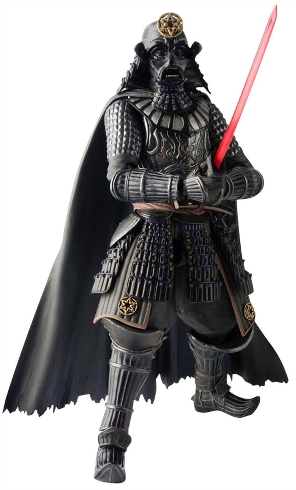 Bandai Movie Realization Samurai General Darth Vader Star Wars Action Figure