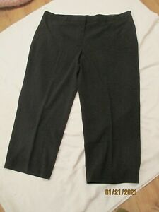 ZAC & RACHEL new with tags plus size 24W SHORT LENGTH pant black stretchy