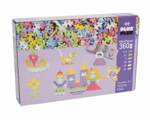 PLUS PLUS 360 Piece PRINCESS CASTLE Set Puzzle Piece-Shaped Building Toy