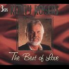 The Best of Love [Box] [Box] by Kenny Rogers (CD, Jul-2000, 3 Discs, Madacy Distribution)