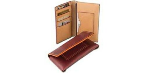 """CLASSIC PHONE WALLET Large Size 3101//2/"""" x 6 1//2/"""" LEATHER KIT by TANDY"""