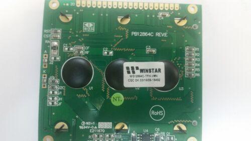 V#N    LCD  MODULE WINSTAR WG12864C-TFH