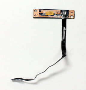 Genuine Lenovo IdeaPad Y510p Laptop Power Button Board w// Ribbon Cable