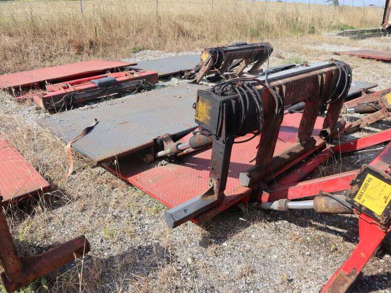 Afmonteret 2500 kg zepro lifte