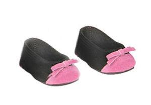 Pink Multi Plaid Ballerina Flat Shoes Fits 18 inch American Girl Dolls