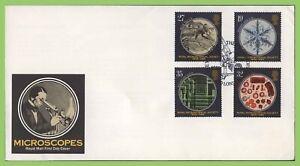 Graham-Brown-1989-microscopi-Set-di-Royal-Mail-Primo-giorno-di-copertura-London-SW7