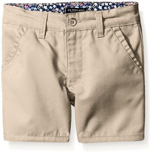 Uniforms Childrens Apparel Little Girls Twill U.S Pick SZ//Color. Polo Assn