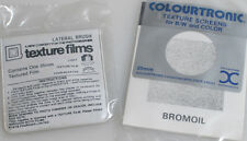 35MM DARKROOM TEXTURE SCREENS: LATERAL BRUSH AND BROMOIL
