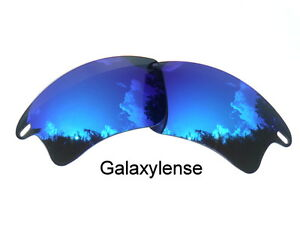 2021a07f9d Galaxy Replacement Lenses For Oakley Fast Jacket XL Sunglasses Blue ...