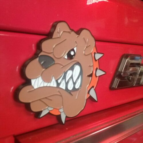 2-4,3-1,3-3 Vintage Semi Truck Emblem magnets//for your Snap on Toolbox
