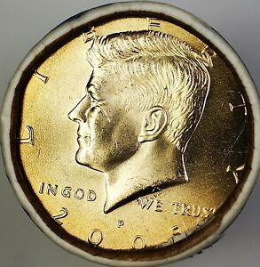1 Coin 2005-P Kennedy Half Dollar.