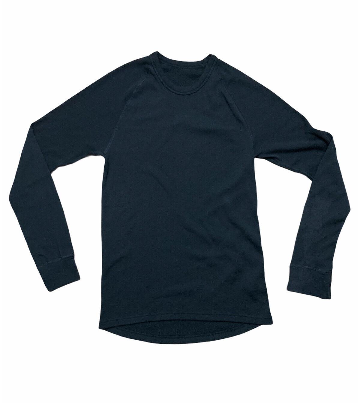 Odlo Black Long Sleeve Fleece Lined Polyester Basic Womens Top Size Large