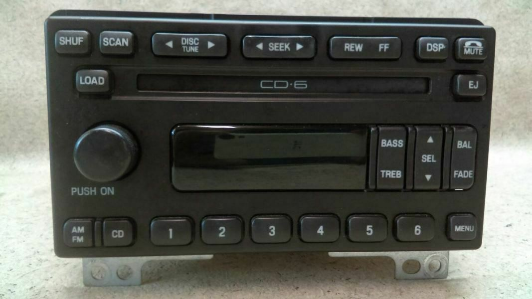3L2T-18C815-FA *AS-IS* *READ* Ford Explorer Expedition OEM Radio FM//AM 6 CD P//N