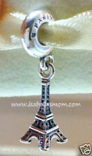 NEW Authentic PANDORA Paris EIFFEL TOWER Sterling Silver Charm DANGLE 791082