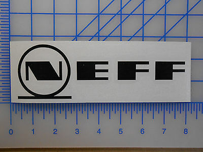 """Neff Logo Decalcomania 3 /"""" 5.5 /"""" 7.5 /"""" 11 /"""" Occhiali Daily Camicia Berretto"""