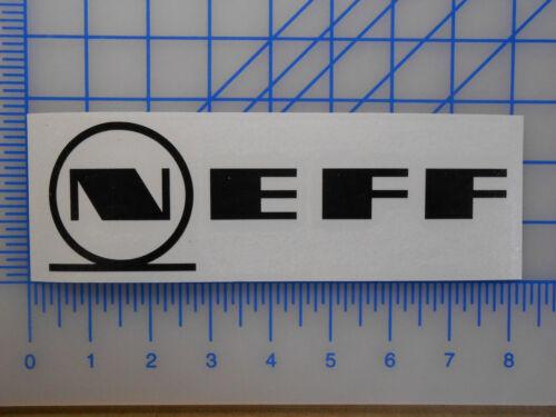 "Neff Logo Decal Sticker 3/"" 5.5/"" 7.5/"" 11/"" Glasses Sunglasses Daily Shirt Beanie"