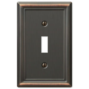 Details About Chelsea Anitque Bronze Metal Switchplate Wall Plate Covers Light Switch Outlet
