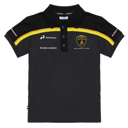 Special Edition Lamborghini Squadra Corse Children Kids Polo Shirt Age 3-12 Boys