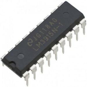 5-Pack-LM3915-Dot-Bar-Display-Driver-Logarithmic