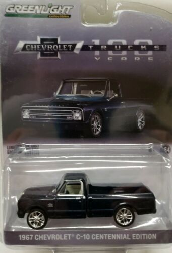 Greenlight 1//64 1967 Chevrolet C-10 Chevy Centennial Edition Truck 100 years GL