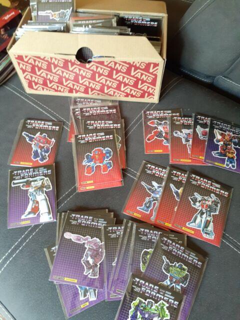 Transformers original g1 box art 3D magnets, Optimus prime Megatron Bumblebee