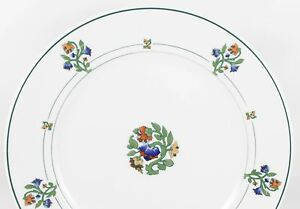 ART DECO ANTIQUE SET(S) 4 SALAD SIDE PLATES ST. ALBANS SYRACUSE RAILROAD CHINA