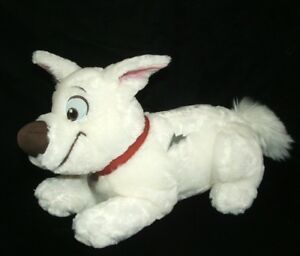 Disney Store Bolt Dog Puppy Plush Stuffed Animal 13 Ebay