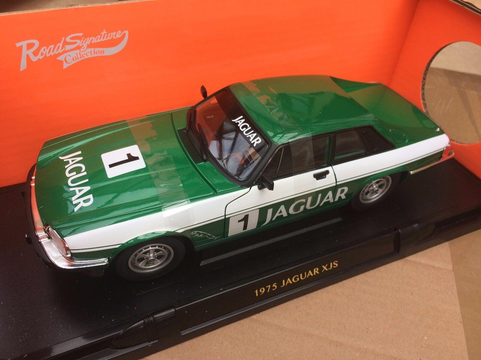 ROAD LEGENDS 92658GNR JAGUAR XJS diecast model TOURING RACE car 1 18th scale