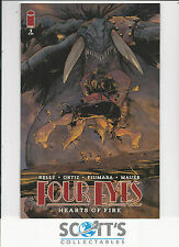 FOUR EYES HEARTS OF FIRE  #3   NM   NEW  (BAGGED & BOARDED)  FREEPOST
