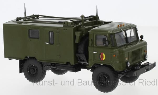 Pcl47099 Premium ClassiXXs 1:43 gaz 66 Radio Valigia r-142 NVA DDR militare