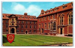 Postcard Cambridge St Catharine's College